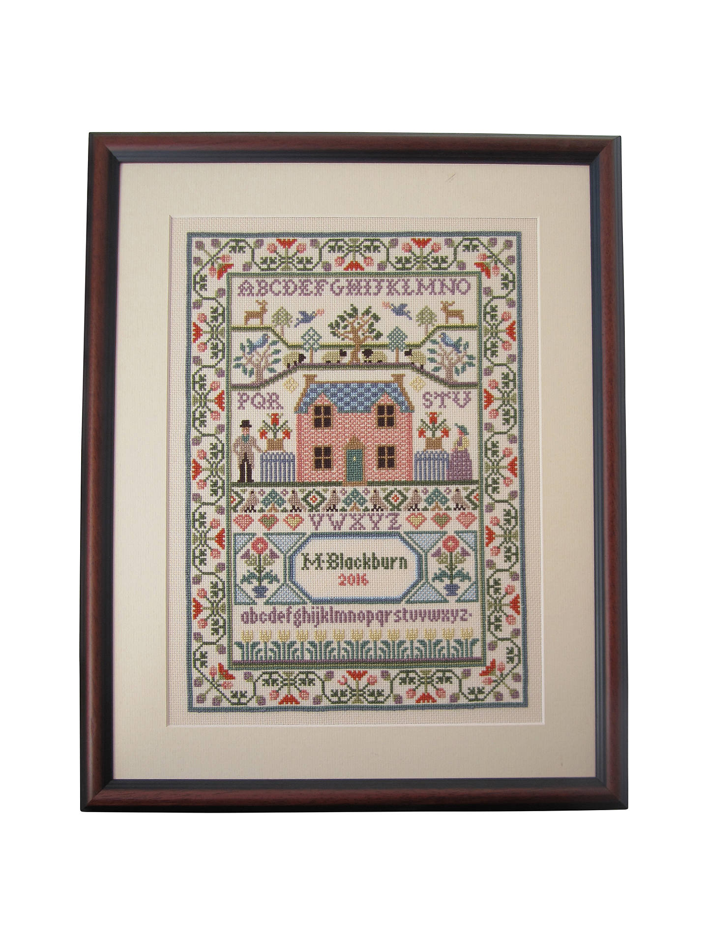 Buy Bothy Threads Cottage Counted Cross Stitch Kit Online at johnlewis.com