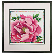 Buy Bothy Threads Peony Counted Cross Stitch Kit Online at johnlewis.com