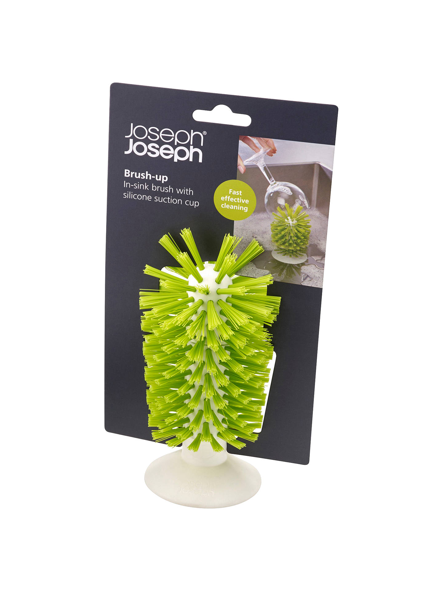 Buy Joseph Joseph Brush Up, Green / White Online at johnlewis.com