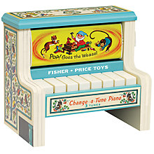 Buy Fisher-Price Change-A-Tune Piano Toy Online at johnlewis.com