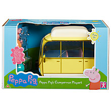 Buy Peppa Pig Campervan Set Online at johnlewis.com