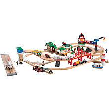 Buy Brio Railway World Deluxe Set Online at johnlewis.com
