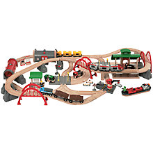 Buy Brio Deluxe Railway Set Online at johnlewis.com