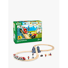 Buy Brio Railway Starter Set Online at johnlewis.com