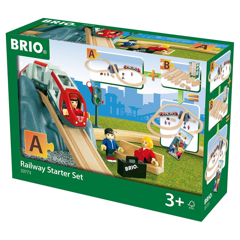 BRIO BRIO World Railway Starter Set