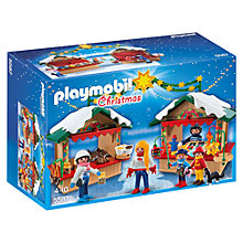 Buy Playmobil Christmas Fair Set Online at johnlewis.com