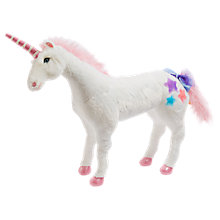 Buy Melissa & Doug Unicorn Plush Soft Toy Online at johnlewis.com