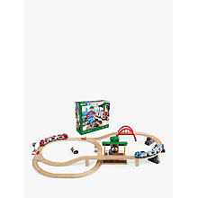 Buy Brio Travel Switching Train Set Online at johnlewis.com