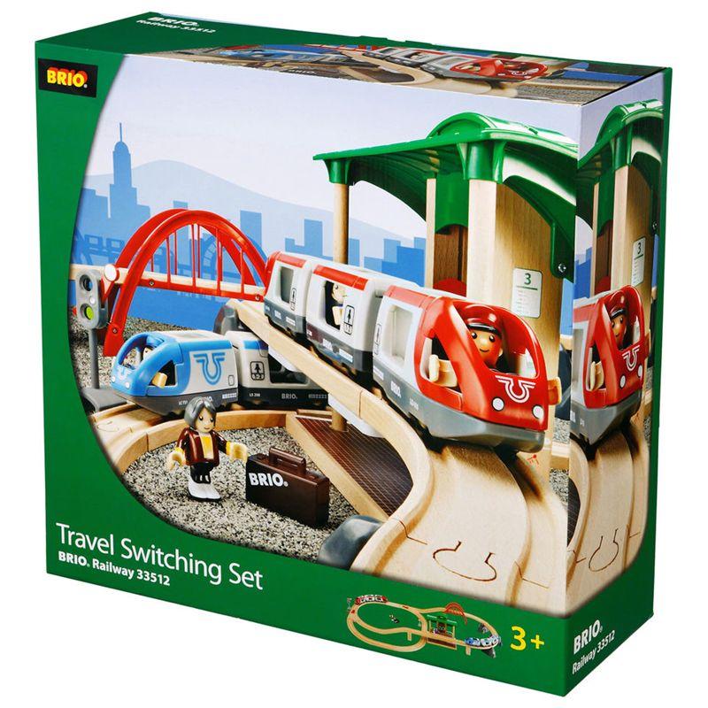 BRIO BRIO World Travel Switching Train Set