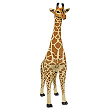 Buy Melissa & Doug Giraffe Plush Soft Toy Online at johnlewis.com