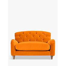 Buy Crumble Snuggler by Loaf at John Lewis in Clever Velvet Spiced Orange, Light Leg Online at johnlewis.com