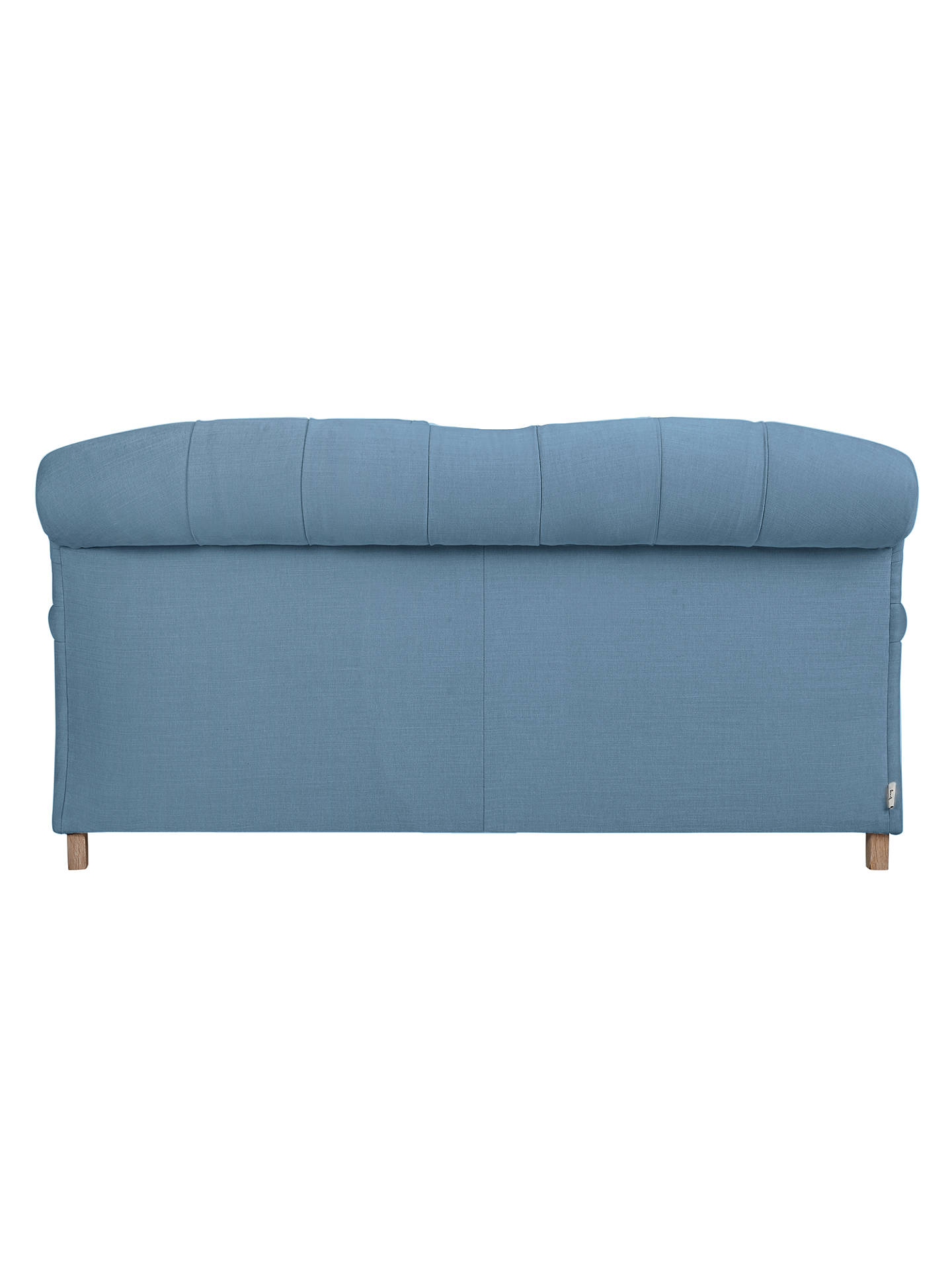 BuyCrumble Medium 2 Seater Sofa by Loaf at John Lewis, Brushed Cotton Nordic Blue Online at johnlewis.com