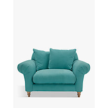 Buy Doodler Snuggler by Loaf at John Lewis in Peacock Brushed Cotton, Light Leg Online at johnlewis.com