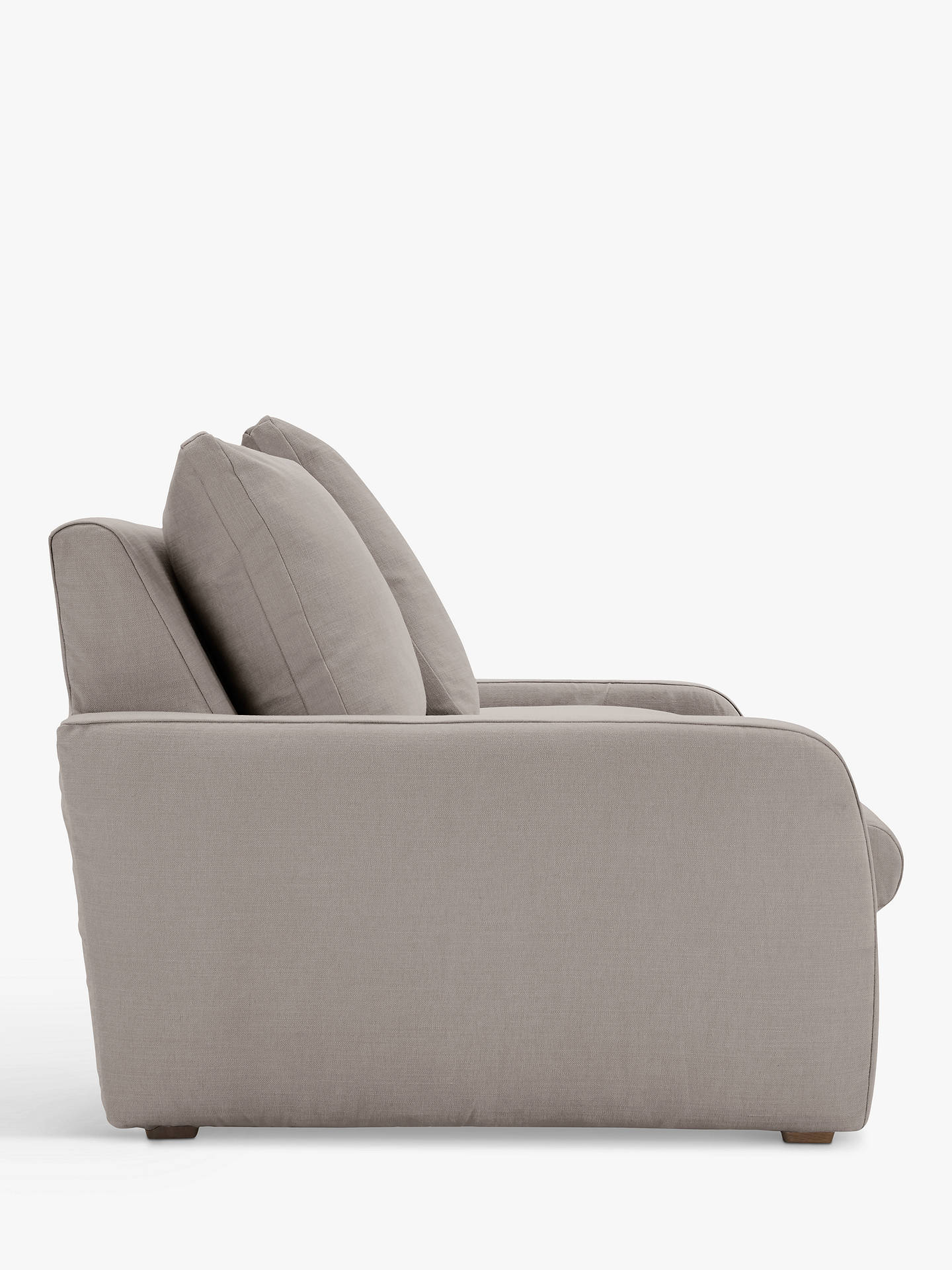 Buy Floppy Jo Large 3 Seater Sofa by Loaf at John Lewis, Brushed Cotton Wolf Online at johnlewis.com