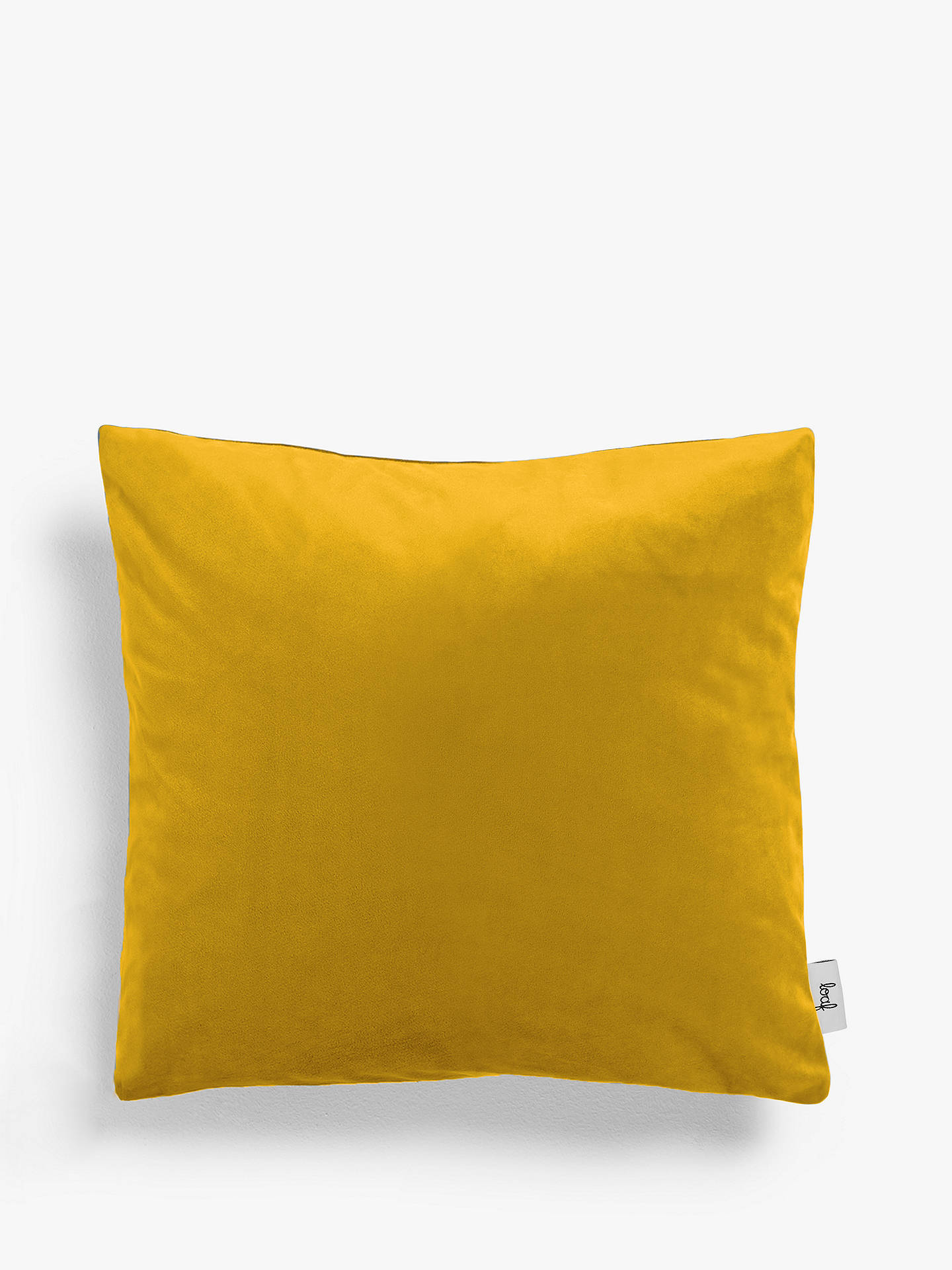 Buy Square Scatter Cushion by Loaf at John Lewis, Clever Velvet Bumblebee Online at johnlewis.com