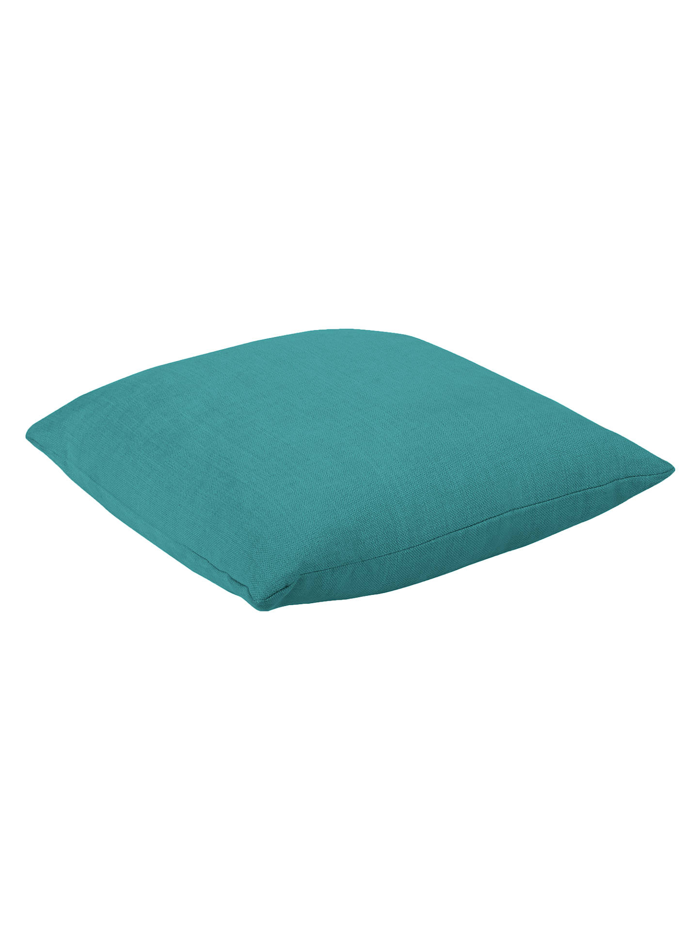 Buy Square Scatter Cushion by Loaf at John Lewis, Brushed Cotton Peacock Online at johnlewis.com