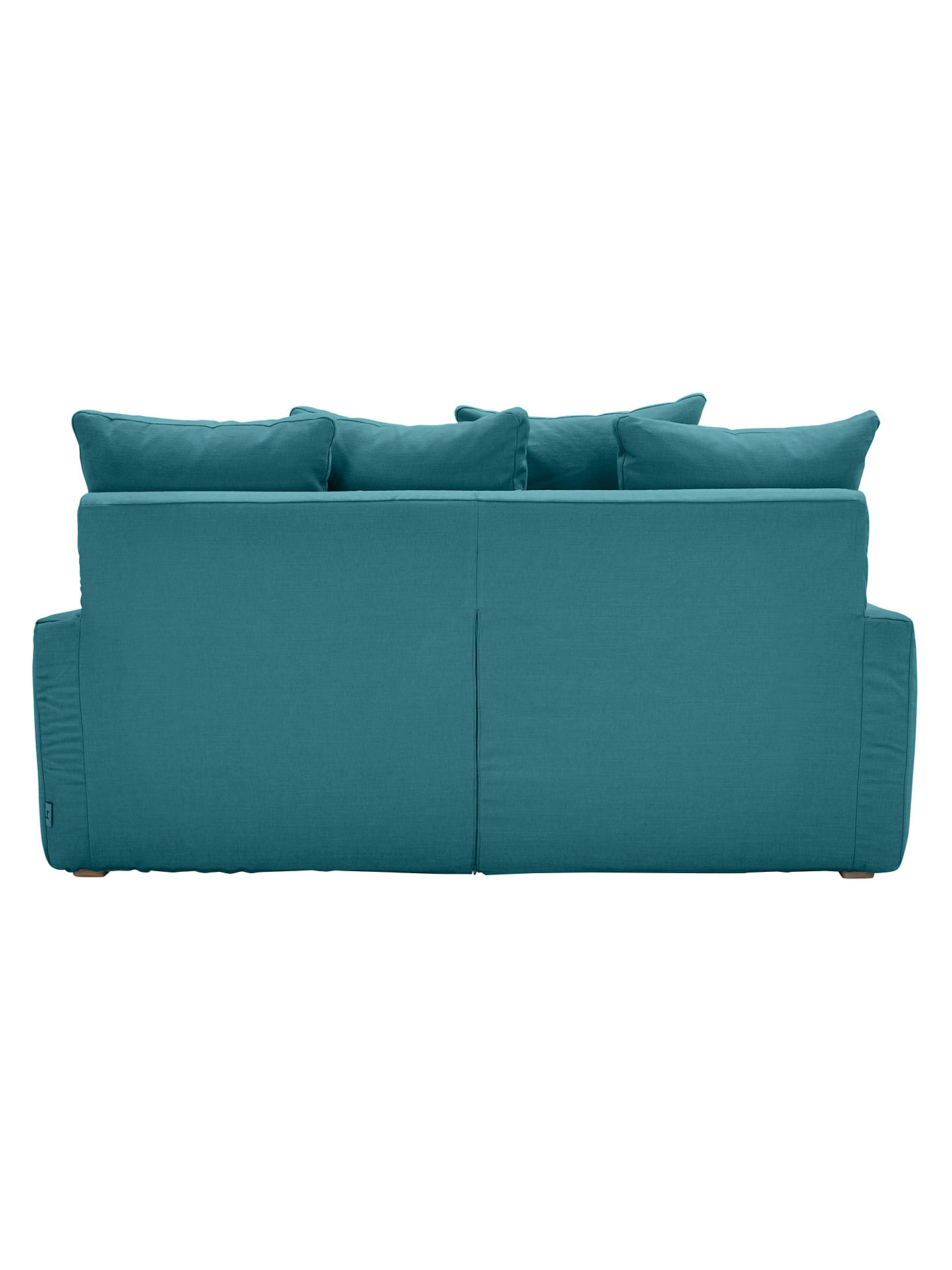 Buy Floppy Jo Medium 2 Seater Sofa by Loaf at John Lewis, Brushed Cotton Teal Online at johnlewis.com