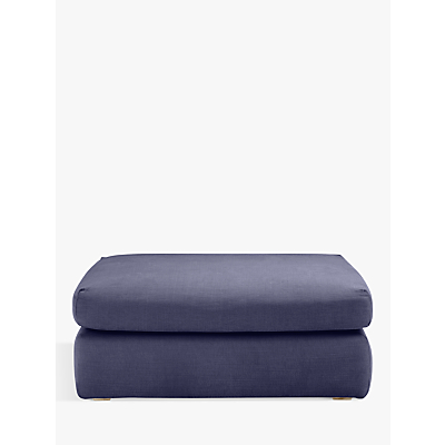 Floppy Jo Footstool by Loaf at John Lewis in Brushed Cotton Navy Blue