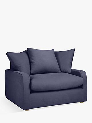 Floppy Jo Snuggler by Loaf at John Lewis in Brushed Cotton Navy Blue