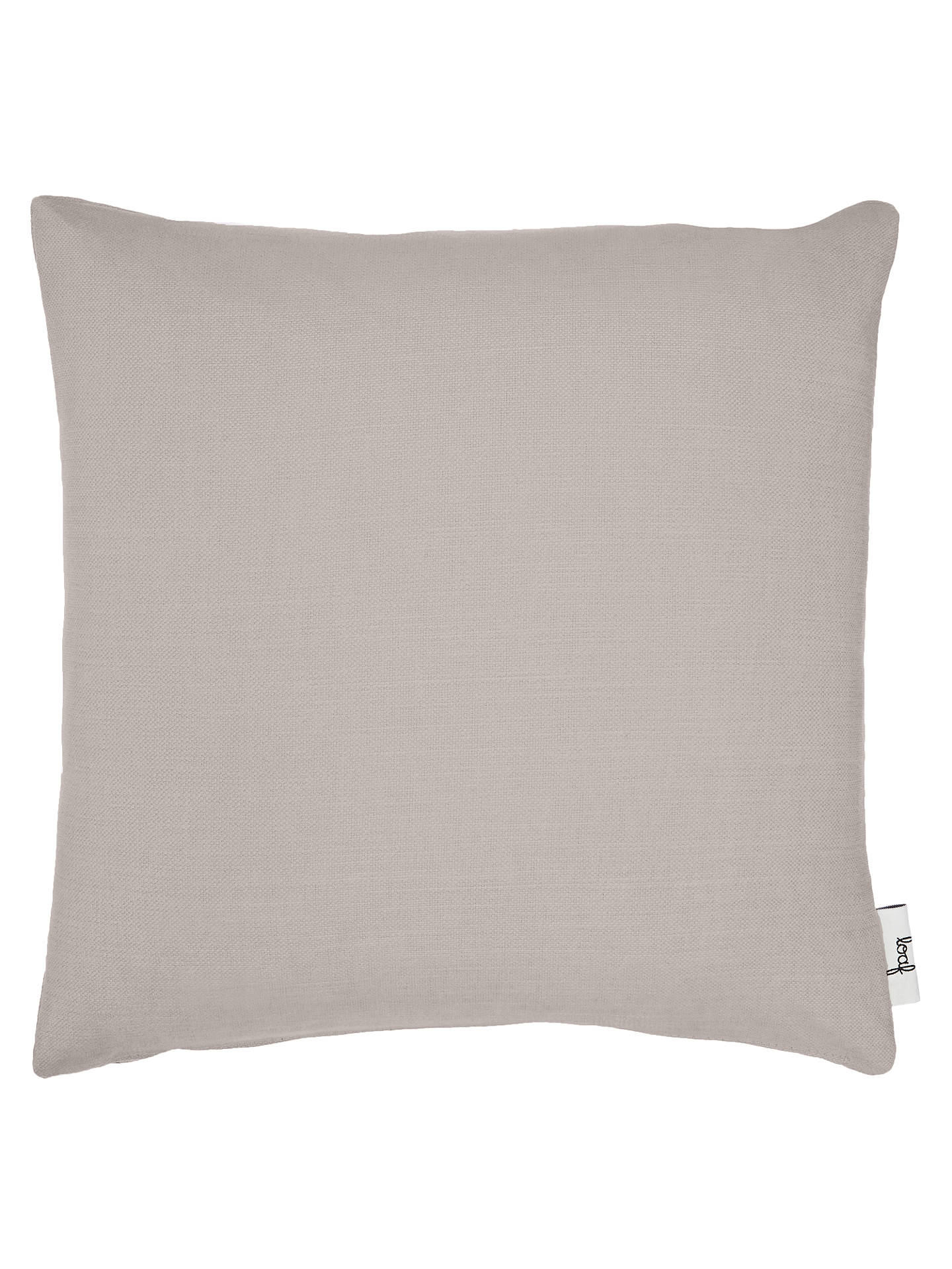 Buy Square Scatter Cushion by Loaf at John Lewis, Brushed Cotton Wolf Online at johnlewis.com