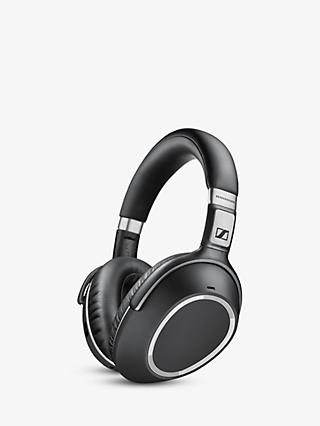 Sennheiser PXC550 Wireless Noise Cancelling Over-Ear Headphones With In-Line Mic/Remote, Black