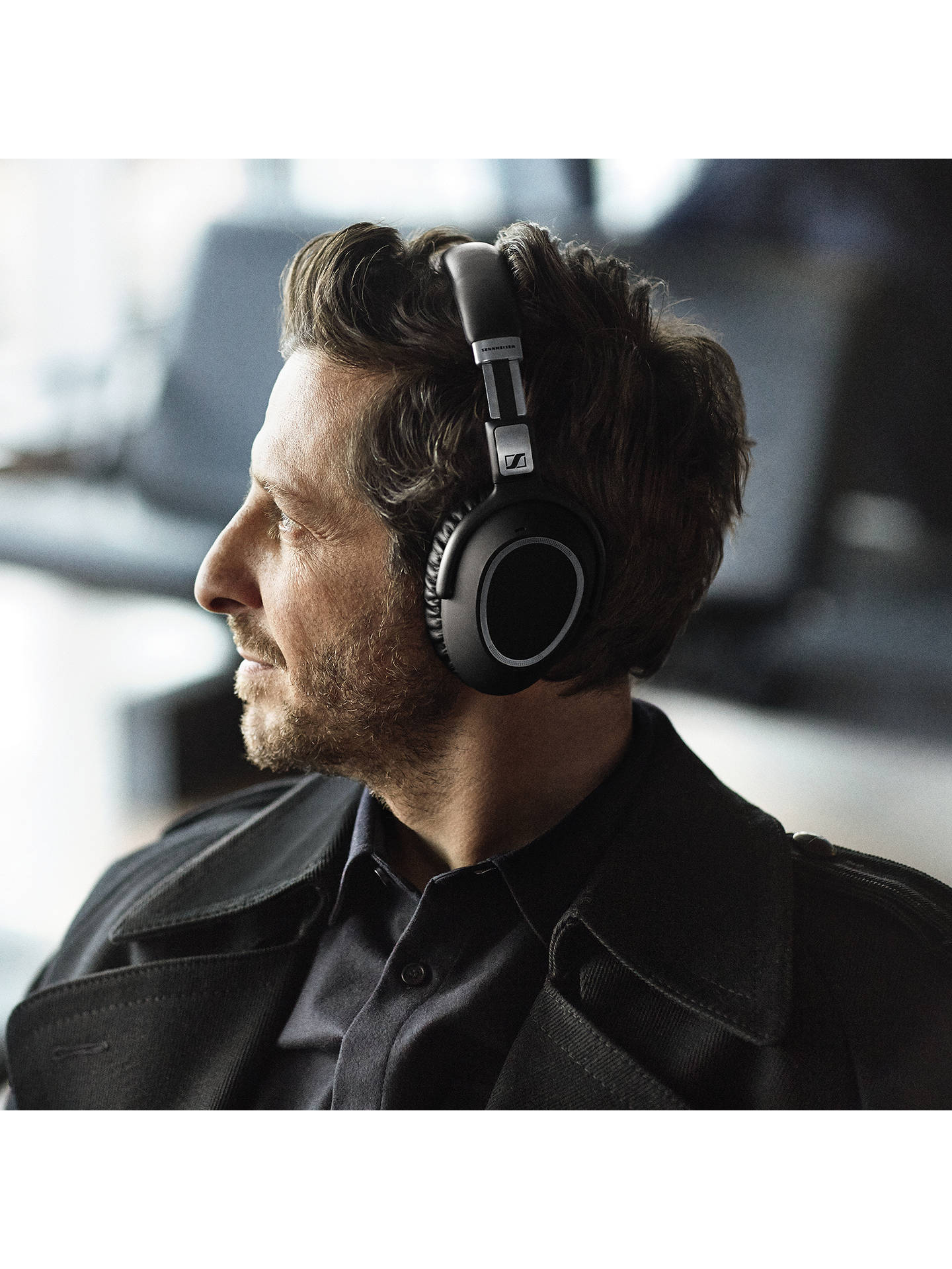 6c04484e6f0 ... Buy Sennheiser PXC550 Wireless Noise Cancelling Over-Ear Headphones  With In-Line Mic/