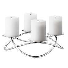 Buy Georg Jensen Season Grand Candle Stick Holder, Steel Online at johnlewis.com