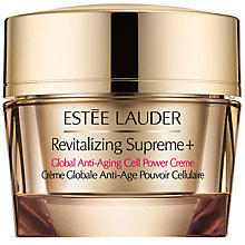 Buy Estée Lauder Revitalizing Supreme+ Global Anti-Ageing Cell Power Creme Online at johnlewis.com