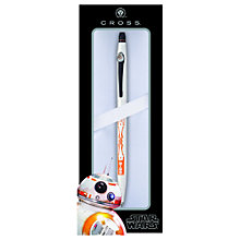 Buy Cross Star Wars BB-8 Sphero Droid Click Gel Pen, White Online at johnlewis.com