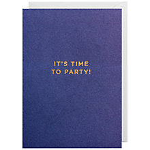 Buy Lagom Designs Time To Party Invitations, Pack of 10 Online at johnlewis.com