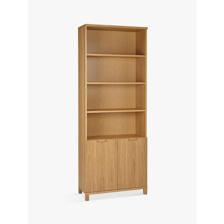 BuyJohn Lewis Abacus 5 Shelf Bookcase with Doors FSC-Certified Online at johnlewis.  sc 1 st  John Lewis & John Lewis Abacus 5 Shelf Bookcase with Doors FSC-Certified at John ...