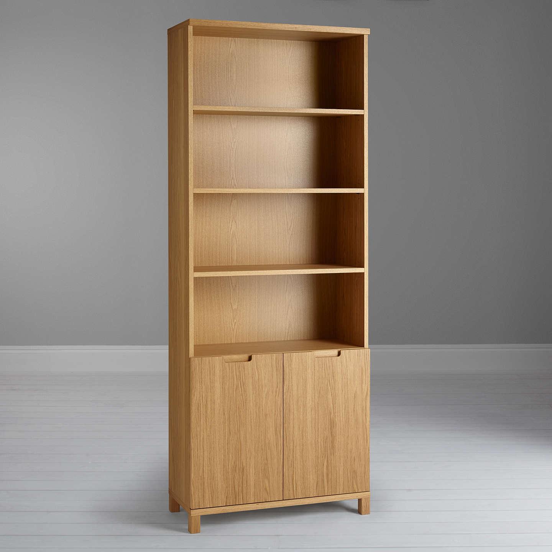BuyJohn Lewis Abacus 5 Shelf Bookcase with Doors FSC-Certified Online at johnlewis. & John Lewis Abacus 5 Shelf Bookcase with Doors FSC-Certified at John ...
