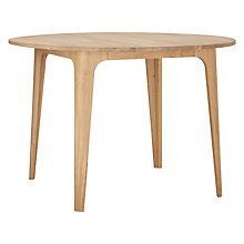 Buy Ebbe Gehl for John Lewis Mira Round Dining Table Online at johnlewis.com