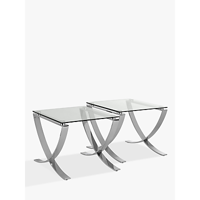John Lewis Vienna Set of Two Side Tables