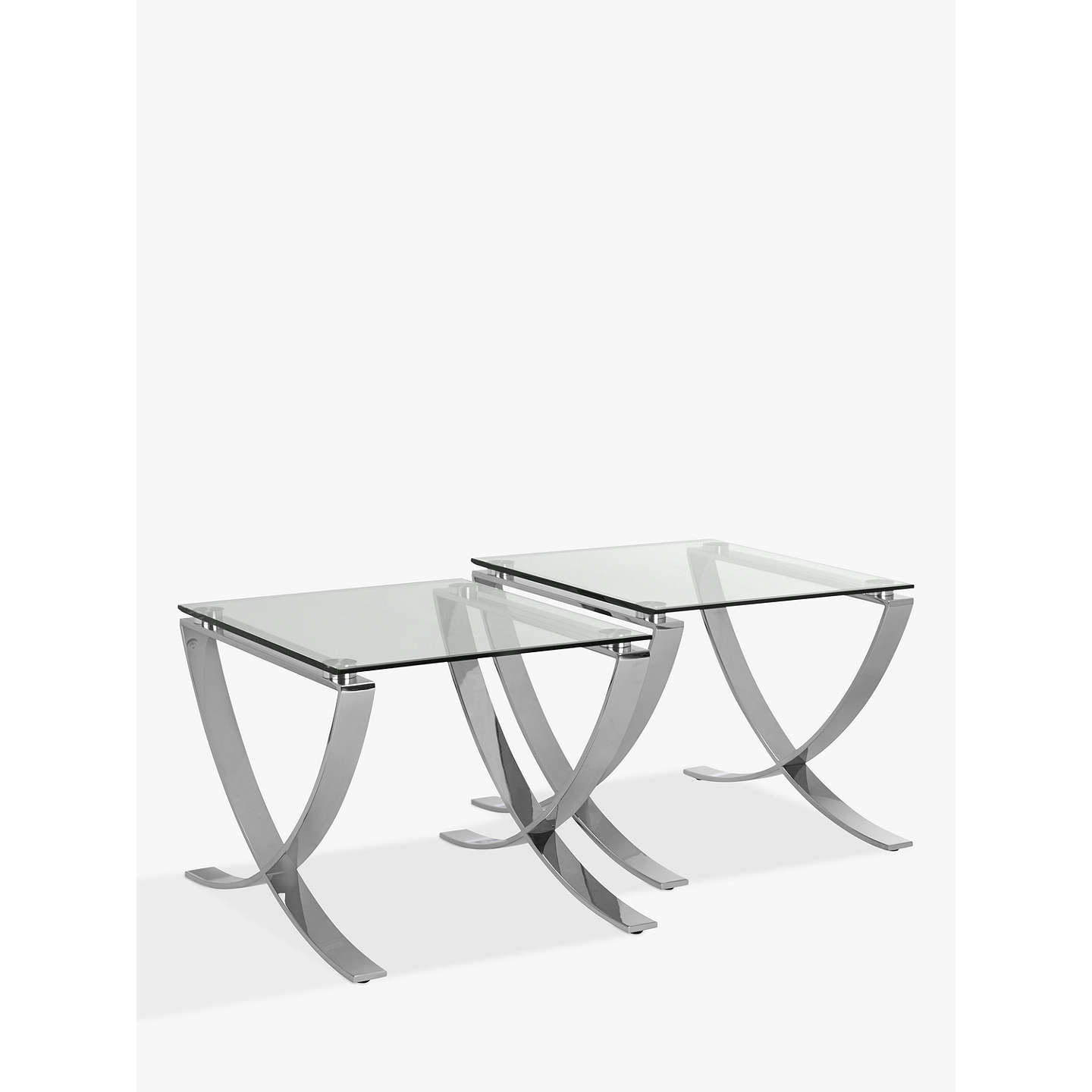John Lewis Vienna Set Of Two Side Tables At Johnlewis Com