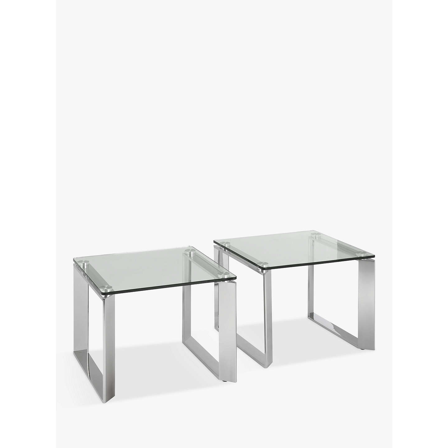 John Lewis Tropez Small Side Tables Set Of 2 At Johnlewis Com