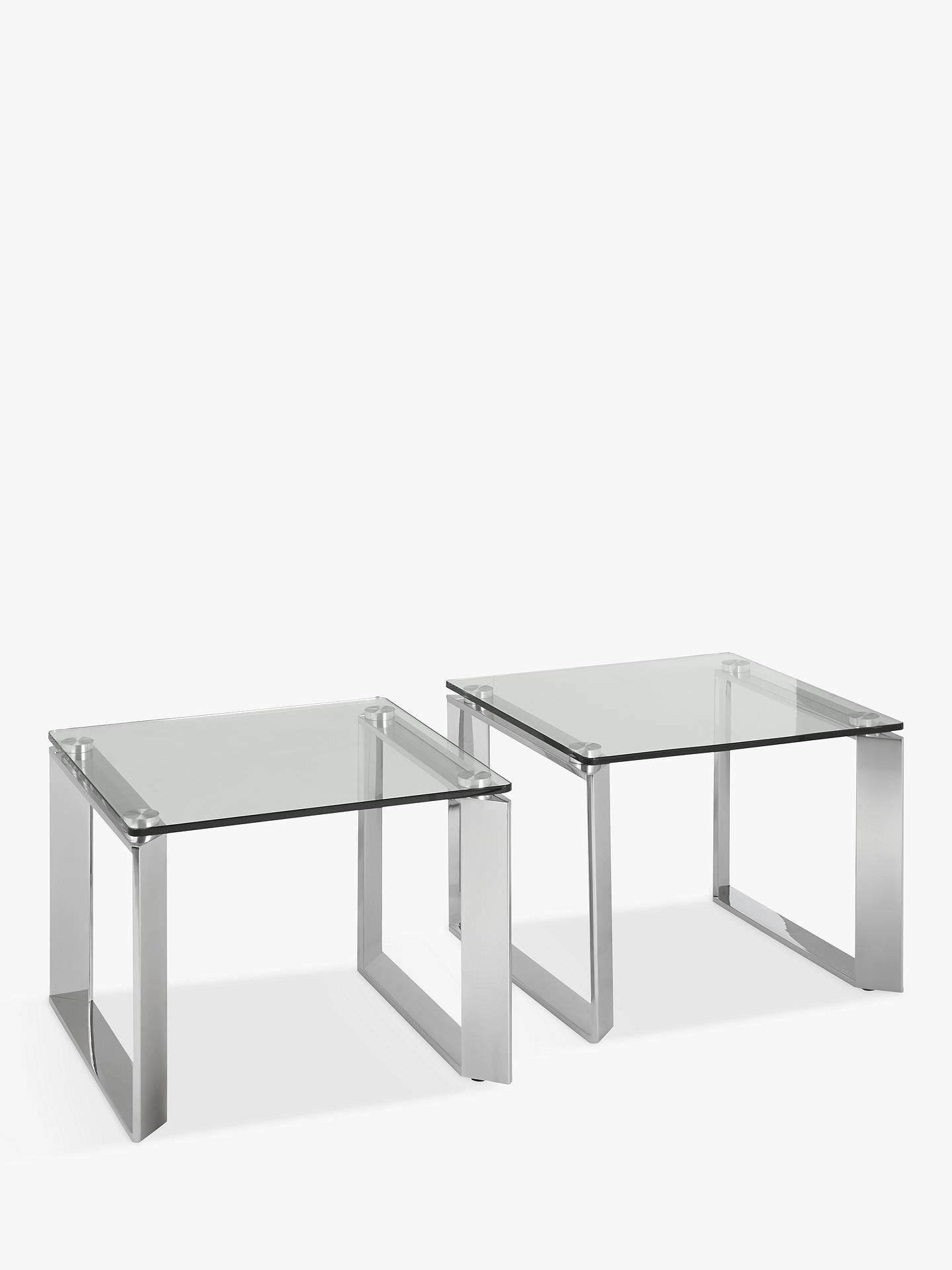 john lewis partners tropez small side tables set of 2. Black Bedroom Furniture Sets. Home Design Ideas