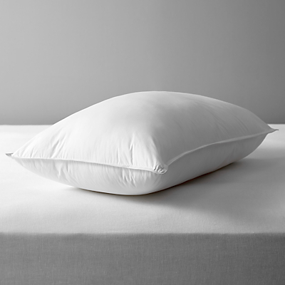 John Lewis Synthetic Soft Like Down Standard Pillow, Medium/Firm
