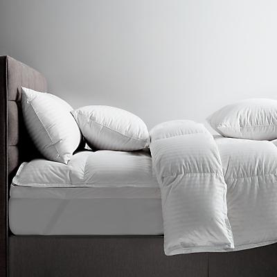 John Lewis Natural Collection Hungarian Goose Down Kingsize Pillow, Medium/Firm