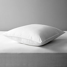 Buy John Lewis Synthetic Soft Like Down Square Pillow, Medium/Firm Online at johnlewis.com