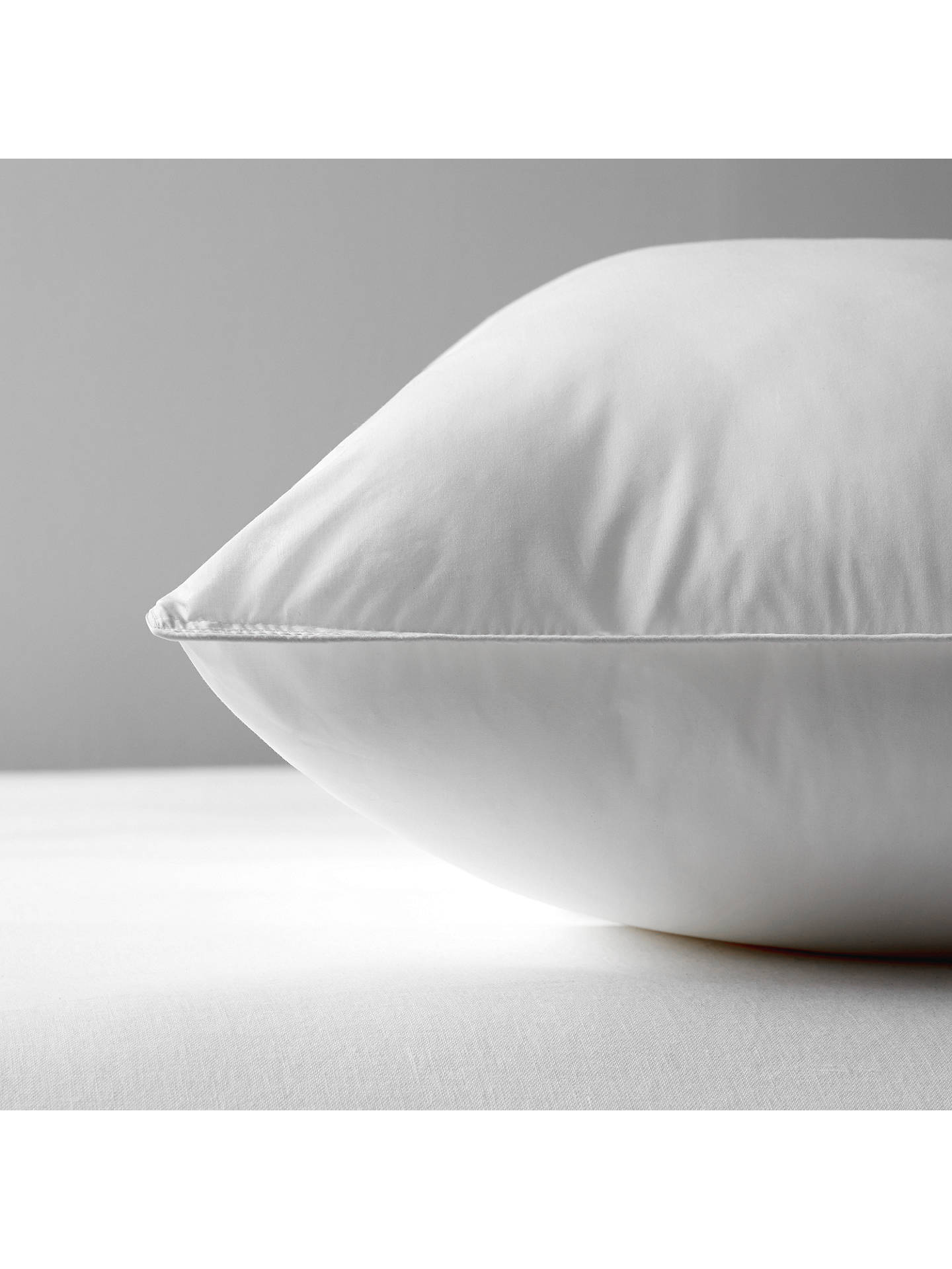 BuyJohn Lewis & Partners Synthetic Soft Like Down Square Pillow, Medium/Firm Online at johnlewis.com