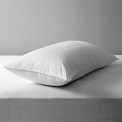 John Lewis Soft Like Down King Size Pillow, Medium/Firm