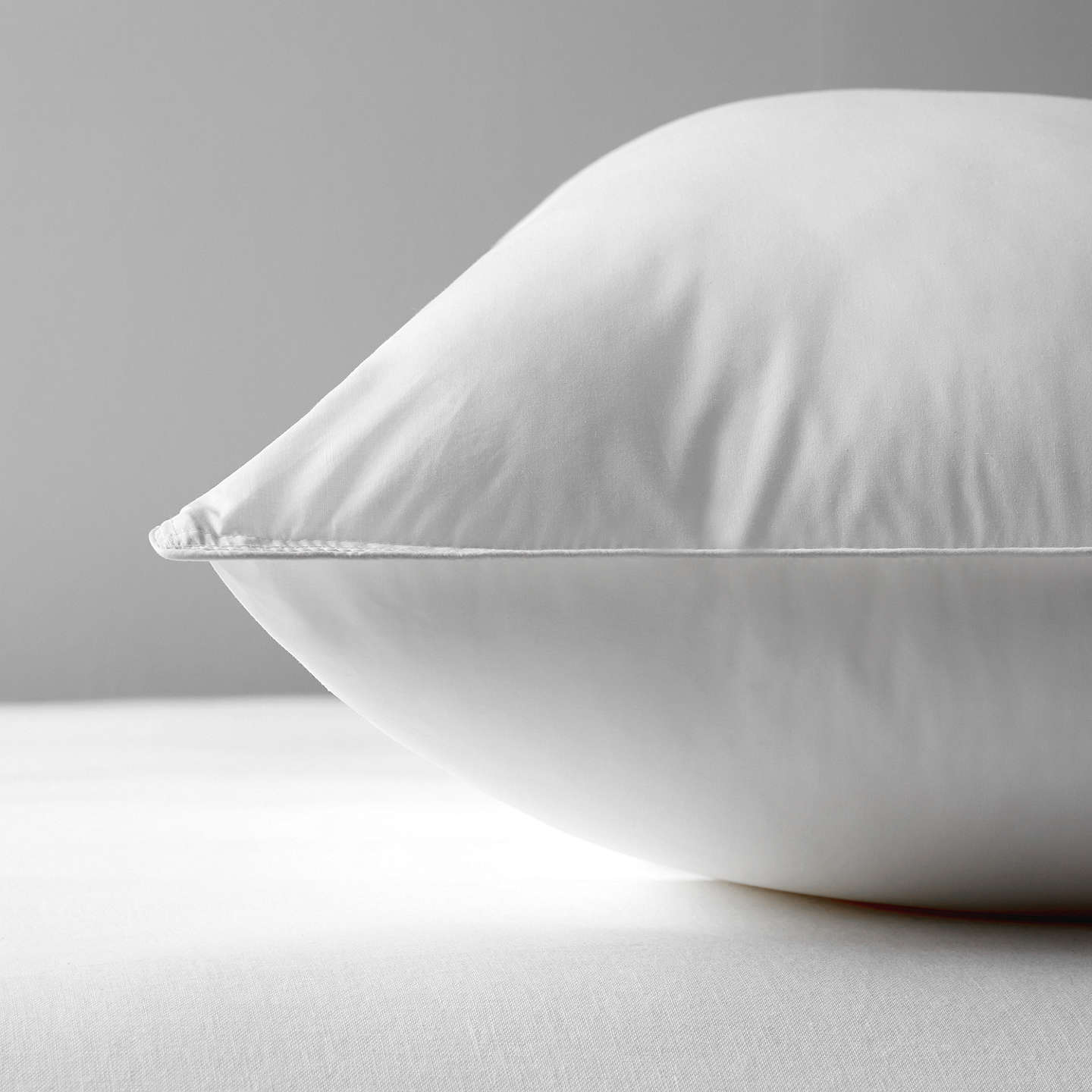 BuyJohn Lewis Synthetic Soft Like Down Kingsize Pillow, Medium/Firm Online at johnlewis.com