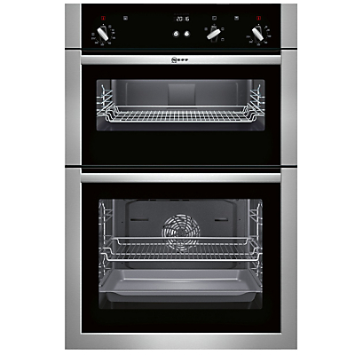 Image of Neff U14S32N5GB Built-In Double Oven, Stainless Steel