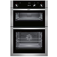 Buy Neff U14S32N5GB Built-In Double Oven, Stainless Steel Online at johnlewis.com
