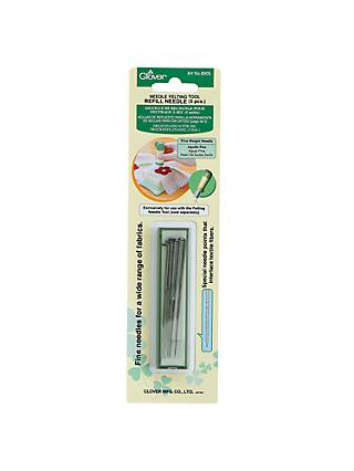 Clover Needle Felting Tool Refill, Pack of 5