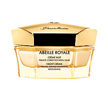 Buy Guerlain Abeille Royale Night Cream, 50ml Online at johnlewis.com