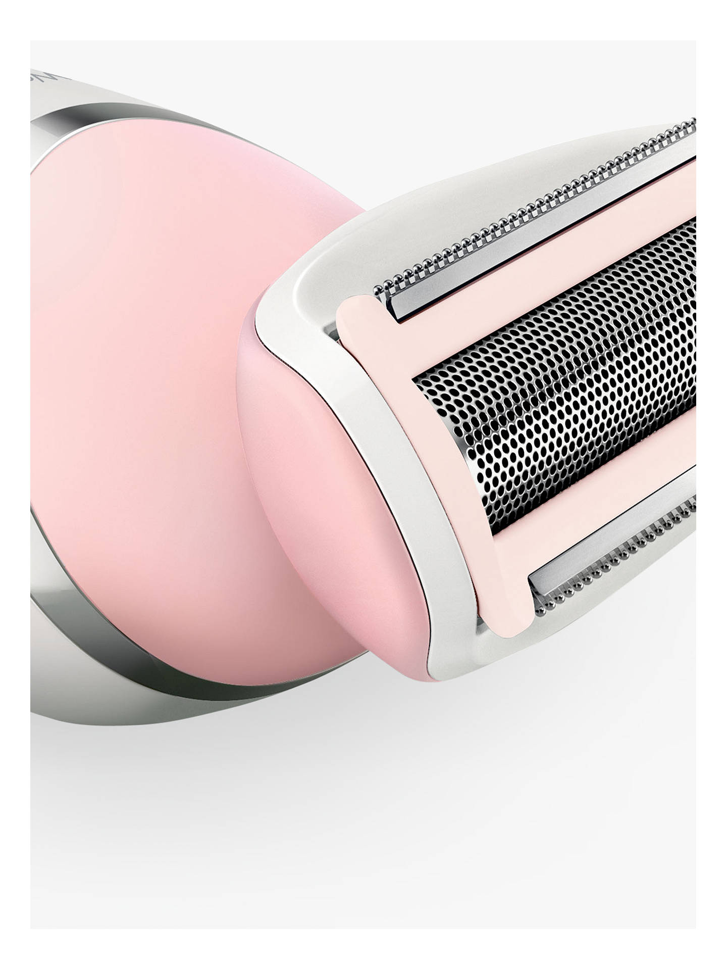 Buy Philips BRL140/00 SatinShave Advanced Wet and Dry Electric Shaver, White/Pink Online at johnlewis.com
