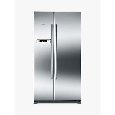 Image of Neff KA7902I20G American Style Fridge Freezer, A+ Energy Rating, 90cm Wide, Stainless Steel