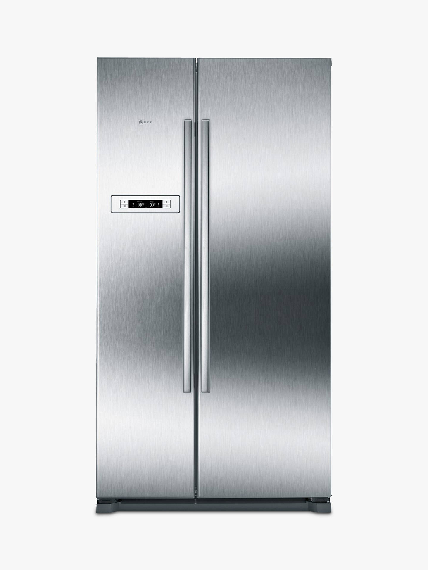 Buy Neff KA7902I20G American Style Fridge Freezer, A+ Energy Rating, 90cm Wide, Stainless Steel Online at johnlewis.com